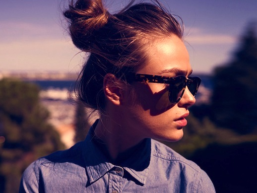 Le-Fashion-Blog-16-Buns-For-Any-Occasion-Hair-Inspiration-Sunglasses-Via-Maison-Scotch