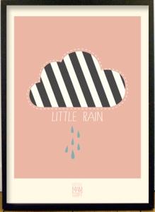 little-man-happy-poster-little-rain-50x70-rose-mood